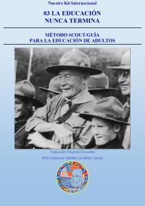 03.- METODO SCOUT Y GUIA